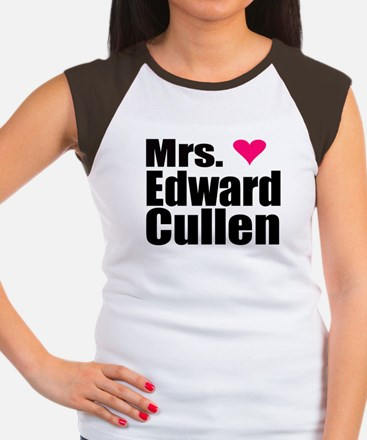Mrs. Edward Cullen Women's Cap Sleeve T-Shirt