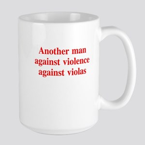 another man against . . . Large Mug