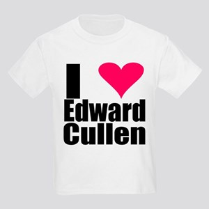 I LOVE EDWARD CULLEN Kids Light T-Shirt