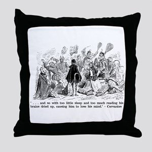 Cervantes Throw Pillow