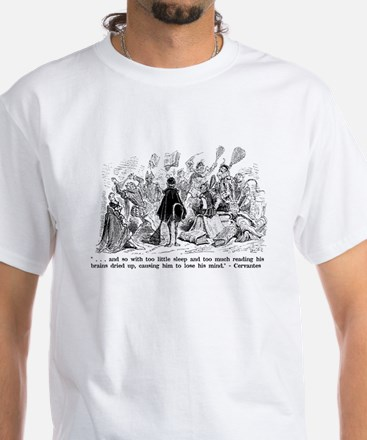 Cervantes White T-Shirt