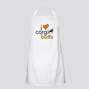 I Heart Corgi Butts - BHT Fluffy BBQ Apron