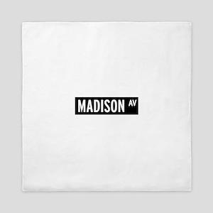 Madison Avenue New York Queen Duvet