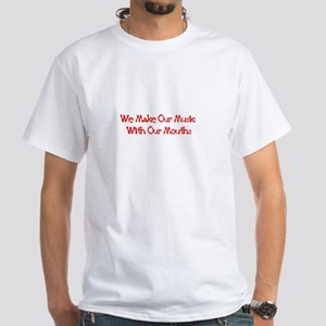 Acapella Music - White T-Shirt