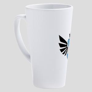 Argentina soccer emblem flag 17 oz Latte Mug