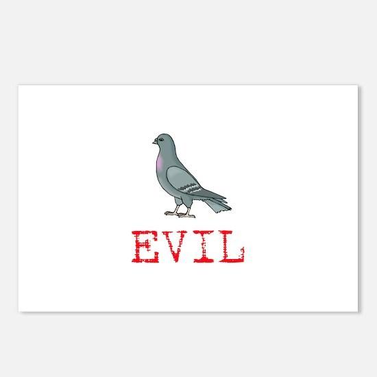 Evil Pigeon Postcards (Package of 8)