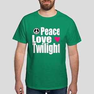 PEACE.LOVE.TWILIGHT Dark T-Shirt
