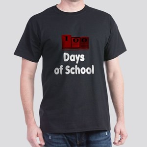 100 Days of School (Dark Shir Dark T-Shirt