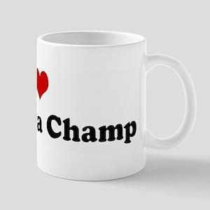 I Love Jimmy Da Champ Mug