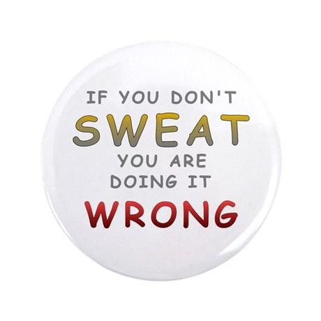 """Doing it Wrong 3.5"""" Button (100 pack)"""