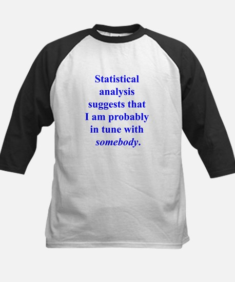Statistically in Tune . . . Kids Baseball Jersey