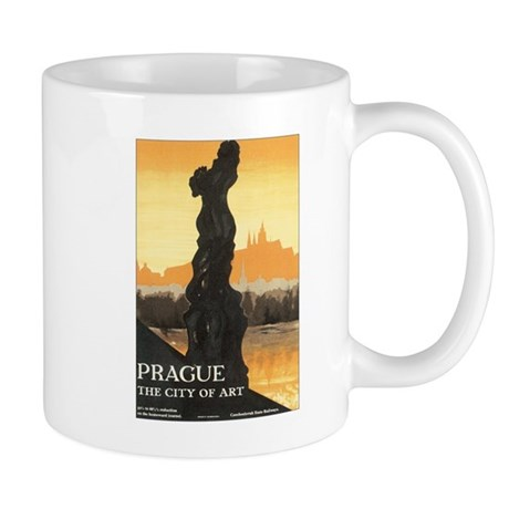 Prague Czechoslovakia Mug