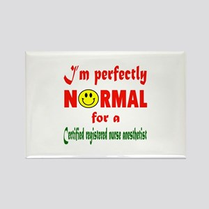 I'm perfectly normal for a Certif Rectangle Magnet