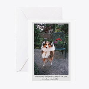 You are only young once Greeting Card