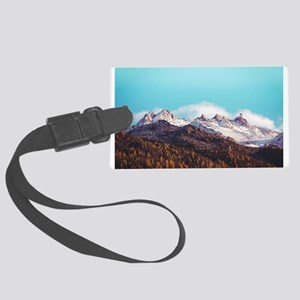 Mountains - Nature - Photography Large Luggage Tag