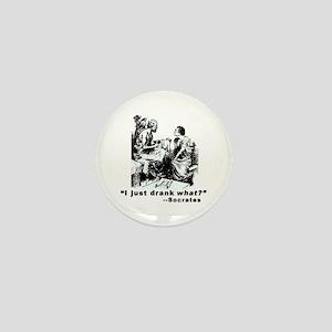Socrates Humor Hemlock Mini Button