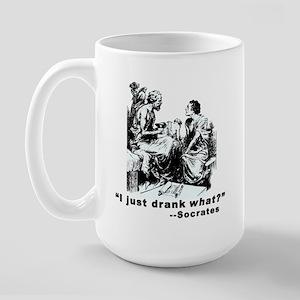 Socrates Humor Hemlock Large Mug