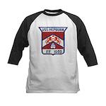 USS HEPBURN Kids Baseball Jersey