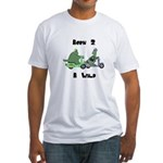 Born 2 B Wild Fitted T-Shirt