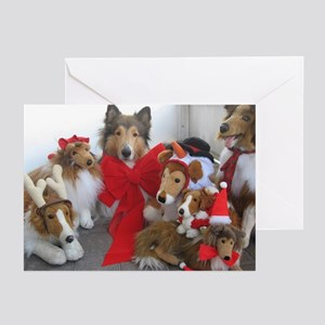 Christmas Collies Greeting Cards (Pk of 20)
