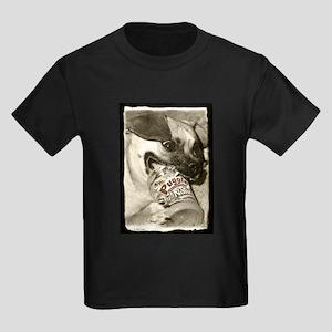 Puggle Peanut Butter Kids Dark T-Shirt