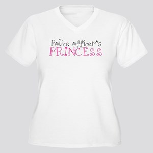 Police officer's princess Women's Plus Size V-Neck