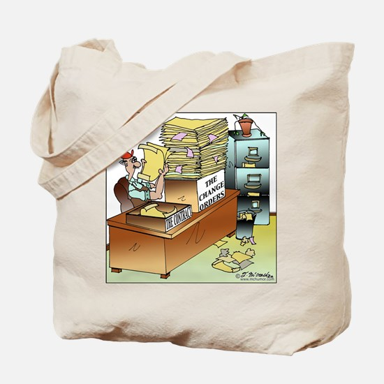 The Change Orders Tote Bag