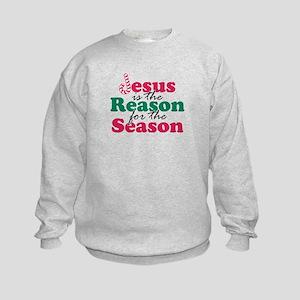 About Jesus Cane Kids Sweatshirt