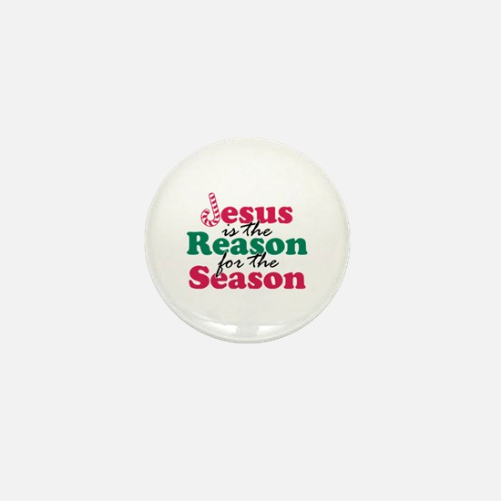 About Jesus Cane Mini Button
