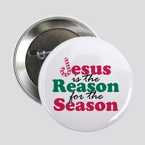 """About Jesus Cane 2.25"""" Button (100 pack)"""