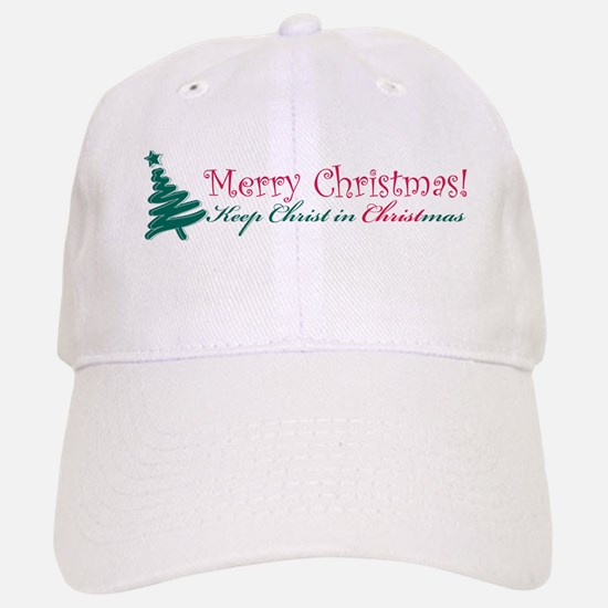 Merry Christmas tree Baseball Baseball Cap
