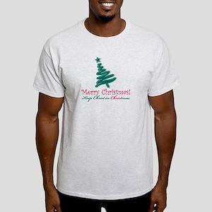 Merry Christmas tree Light T-Shirt