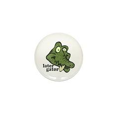 Distressed Vintage Later Gato Mini Button (100 pac