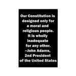 John Adams Quote Rectangle Magnet