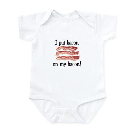 Bacon Lovers Infant Bodysuit