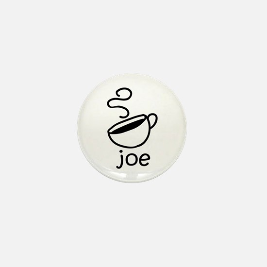 Java Joe Coffee Cartoon Mini Button