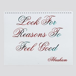 Look For Reasons Design #400 Wall Calendar