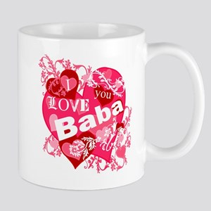 I Love You Baba Mug