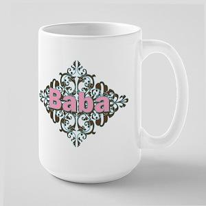 Grandma Baba Name Crest Large Mug