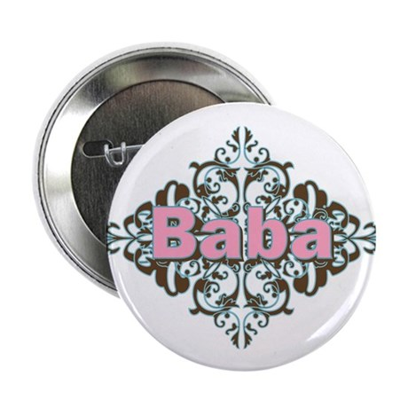 "Grandma Baba Name Crest 2.25"" Button (10 pack)"