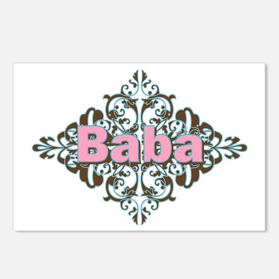 Grandma Baba Name Crest Postcards (Package of 8)