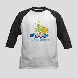 San Diego Holiday Kids Baseball Jersey