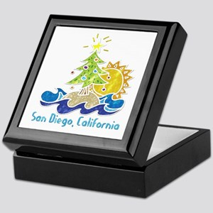 San Diego Holiday Keepsake Box