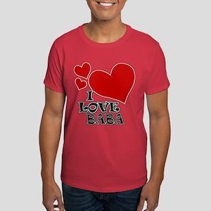 I Love Baba Dark T-Shirt
