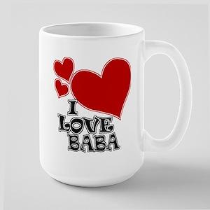 I Love Baba Large Mug