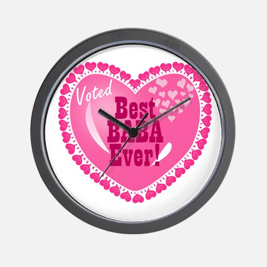 Best Baba Ever Wall Clock