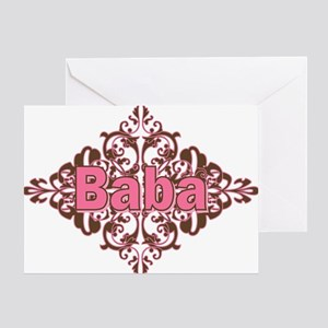Personalized Baba Greeting Card
