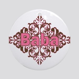 Personalized Baba Ornament (Round)