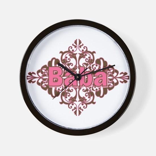Personalized Baba Wall Clock