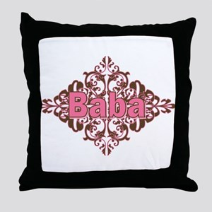 Personalized Baba Throw Pillow